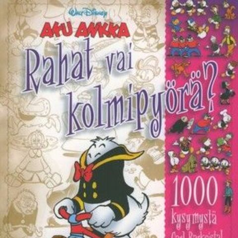 Couverture d'un hors série du magazine finnois <i>Aku Ankka</i>, sorti en 2007 et réutilisant une case de Carl Barks.