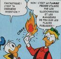 Géo présente la Flamme Froide à Donald