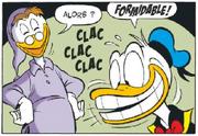 Donald ravi de son nouveau dentier