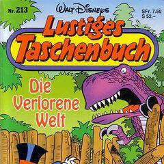 Couverture de la revue allemande <i>Lustiges Taschenbuch</i> n<sup class=