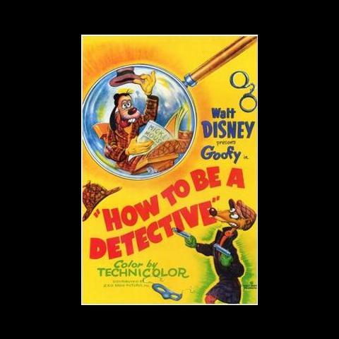 L'affiche de <i>Dingo détective</i>.