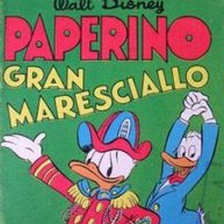 Couverture de la revue italienne <i>Albi della rosa / Albi di Topolino</i> n°178 dessinée par Ambrogio Vergani.