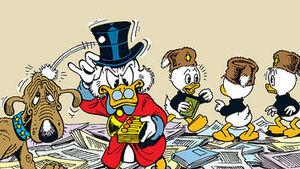 Dublair, Balthazar Picsou et Riri, Fifi et Loulou Duck Les Gardiens de la Bibliothèque perdue
