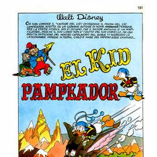 Première planche de l'histoire dans sa deuxième version italienne.