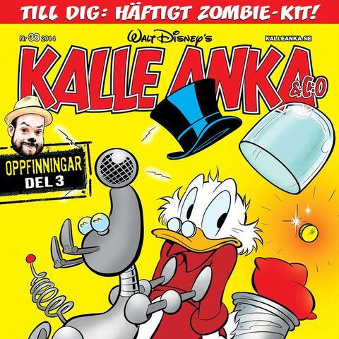 Couverture de la revue suédoise <i><a href=
