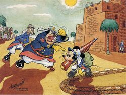 Mickey Mouse in the Foreign Legion