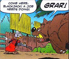 Hr-Goldie avec son ours
