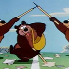 Nicodème et les autres ours du <a href=