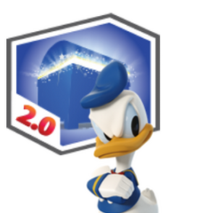 Figurine de Donald Duck du jeu <a href=