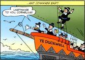 Johannes Coot sur le Ye Duckwell