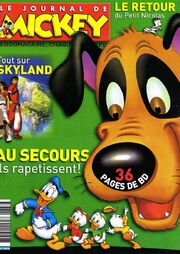 Le Journal de Mickey n°2833