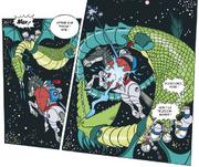 Les canards dans Les chevaliers de l'espace 3