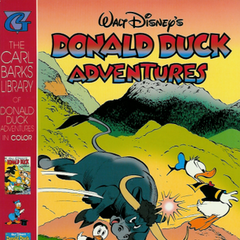 Couverture de <i>The Carl Barks Library of Donald Duck Adventures in Color</i> n<sup class=
