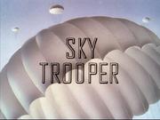 Title card Donald parachutiste