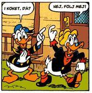 Donald et Grand-mère Donald par Tiberio Colantuoni
