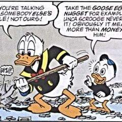 Une souris trouvée par Donald.