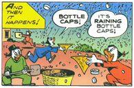 Pluie de capsules