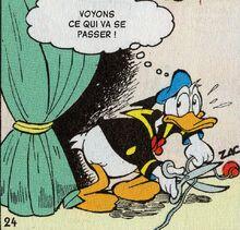 Donald coupe fil téléphone