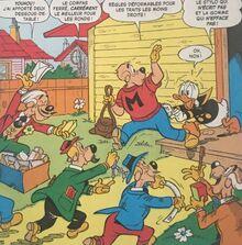 Donald harcelé par les vendeurs!