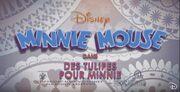 Title card Des tulipes pour Minnie