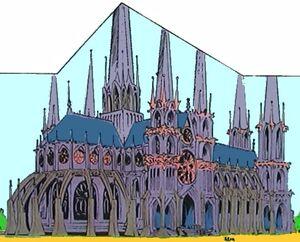 Cathédrale Notre-Duck