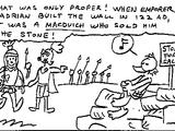 McPicsou du mur d'Hadrien