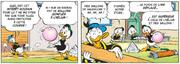 Donald se moque de ses neveux et de leur idée de radeau