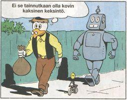 Hr-Roscoe le robot