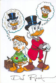 Scrooge and his lifetime