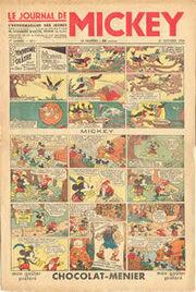 Le Journal de Mickey (avant-guerre) n°1