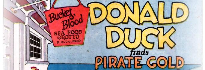 Donald et le trésor du pirate bandeau
