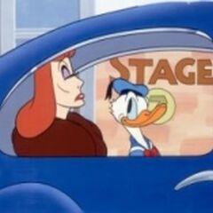 Donald avec Greta Garbo dans <i><a href=