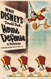 Home defense 1943 donald cartoon