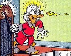 Hr-Don Rosa dessine Picsou