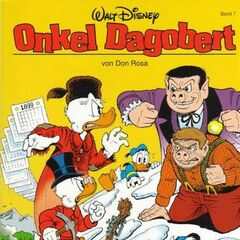 Couverture de <i>Onkel Dagobert von Don Rosa</i> n<sup class=