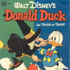 Couverture de <i>Donald Duck</i> n°26.