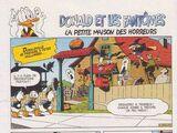 Donald et les fantômes : La petite maison des horreurs