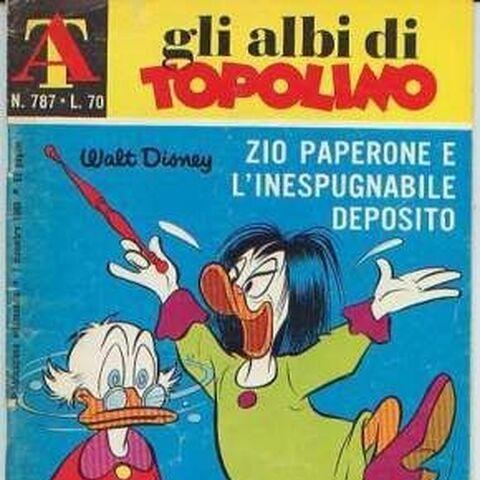 Couverture du <i>Albi della rosa / Albi di Topolino</i> n<sup class=