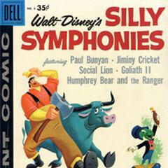 Nicodème en couverture du magazine <i>Silly Symphonies</i>.
