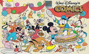 Walt Disney's Comics and Stories n°550