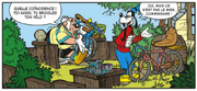 Dingo retape le vélo de Dingdolent