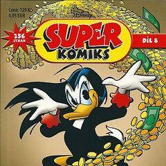 Couverture de la revue tchèque <i>Super Komiks</i> n°2012-02 du 4 avril 2012 illustrant le récit et dessinée par <a href=