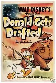 Donald à l'armée
