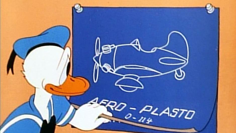 Donald Duck - The Plastics Inventor 1944