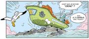 Donald s'échoue contre des récifs