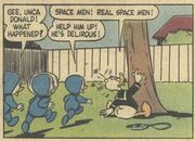 Donald et la soucoupe volante! - extrait 7
