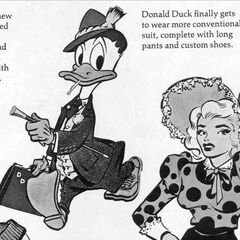 Mad n°82, Donald change de look