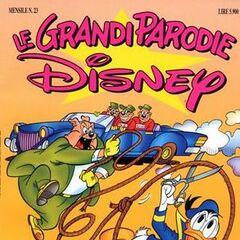 Couverture du magazine Italien Le grandi parodie (Disney) n° 23 publié en Mai 1994.