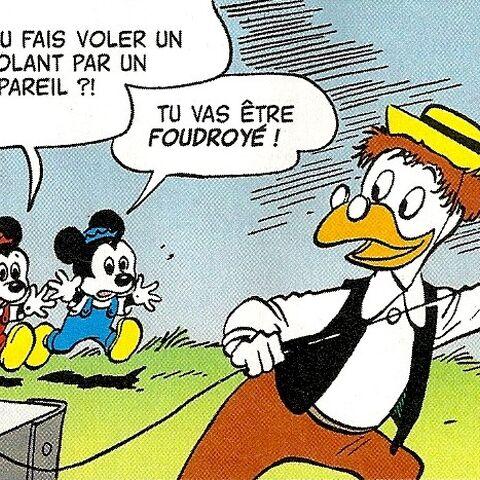Jojo et Michou avec Géo Trouvetou dans l'histoire de Carl Barks, <i><a href=