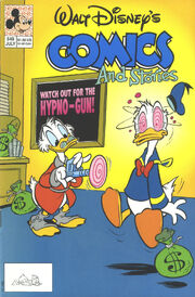 Walt Disney's Comics and Stories n°549